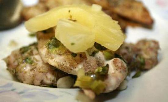 Dieta de choque pina y pollo
