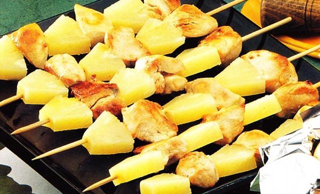 Dieta de pina y pollo para adelgazar