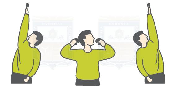 Ejercicios de estiramientos dorsales
