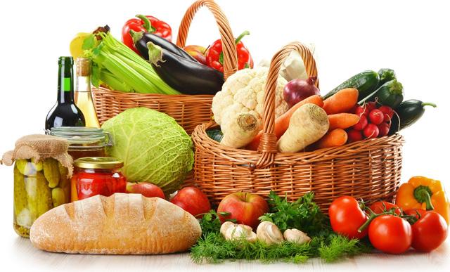 Frutas y verduras en tus dietas bajas en calorías