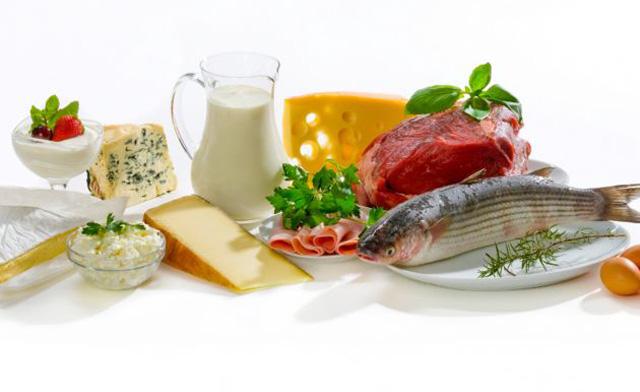 ¿Qué alimentos contienen proteínas?