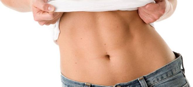 Tabla abdominales mujer