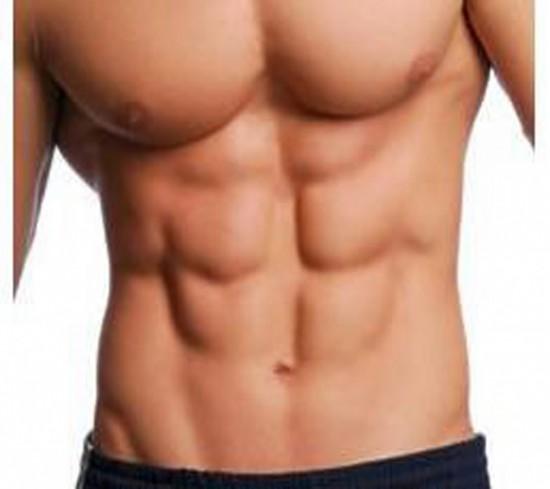 Tabla de ejercicios de musculación.