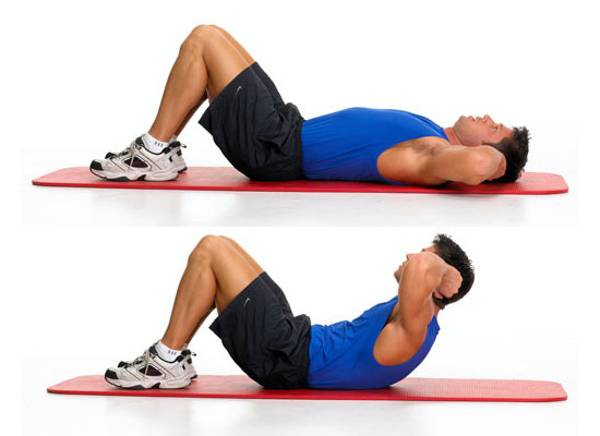 Tabla de ejercicios de musculación