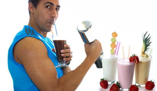 4 batidos de proteínas caseros para ganar masa muscular