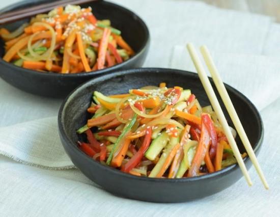 Cómo preparar un wok de verduras.
