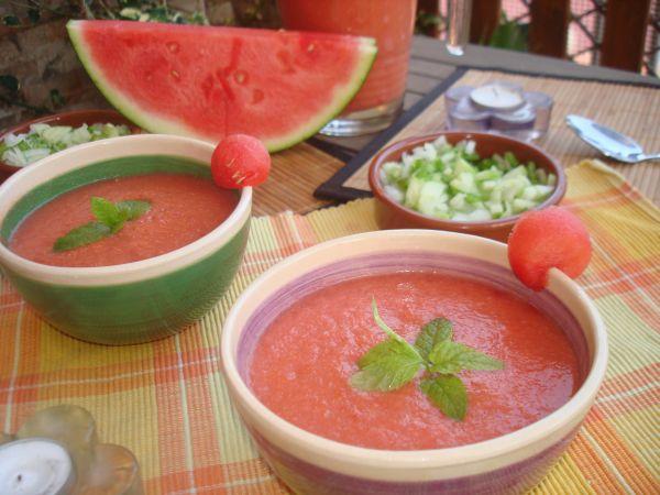 Cómo se prepara el Gazpacho de sandia