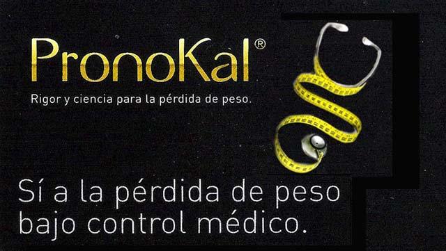 Pronokal si a la perdida de peso bajo control medicos
