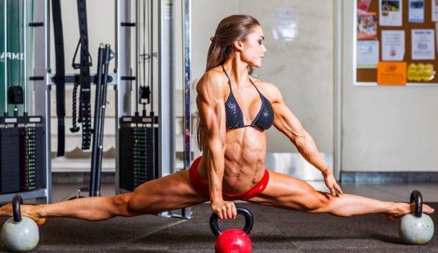 Dieta para masa muscular mujer