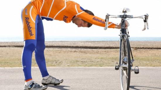 Estiramientos para ciclistas.
