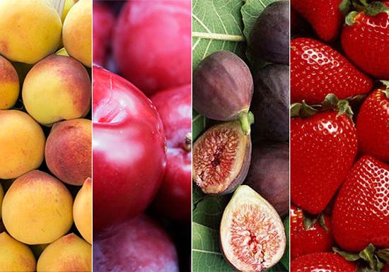 4 frutas con hierro