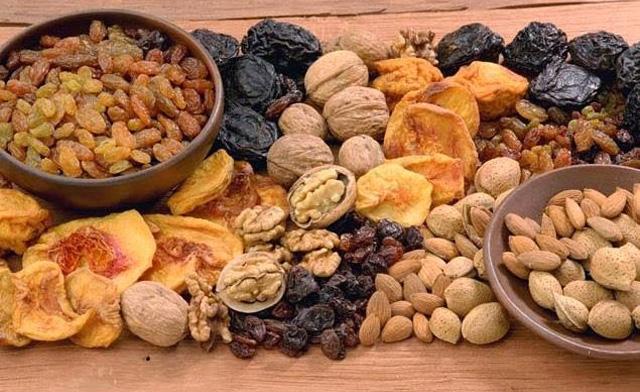 Frutos secos: propiedades medicinales