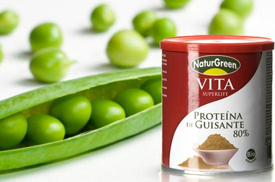Qué es la proteína de guisante