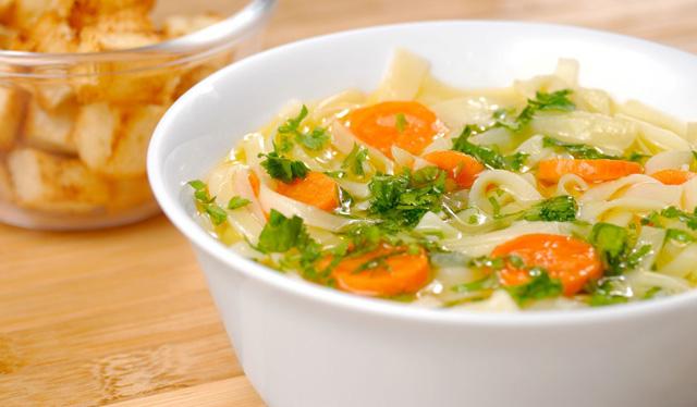 Receta caldo de verduras para adelgazar
