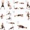 Tablas de ejercicios para hacer en casa