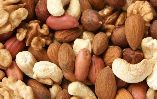 Tipos de frutos secos más saludables