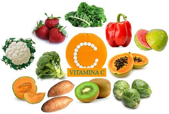 Vitamina C alimentos