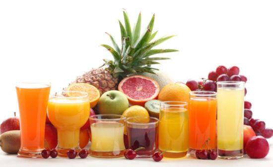 Tipos de zumo de frutas