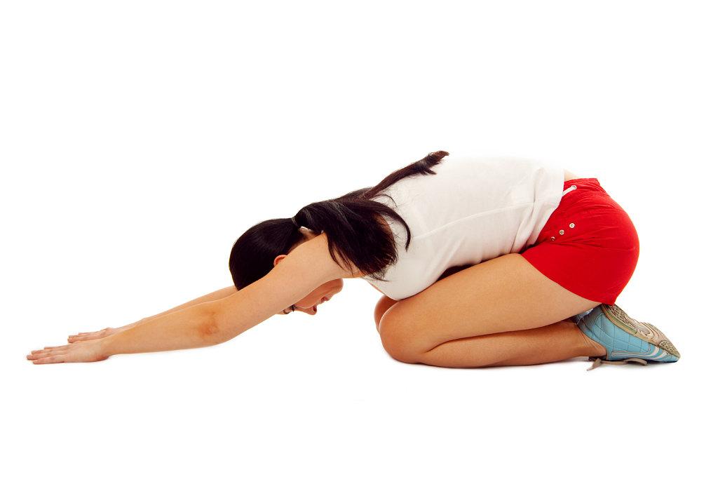 6 Estiramientos y abdominales lumbares
