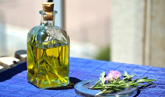Aceite de romero para la salud