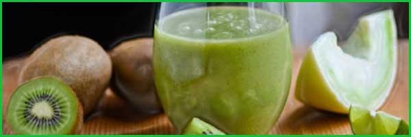 Batido de kiwi y melón para adelgazar