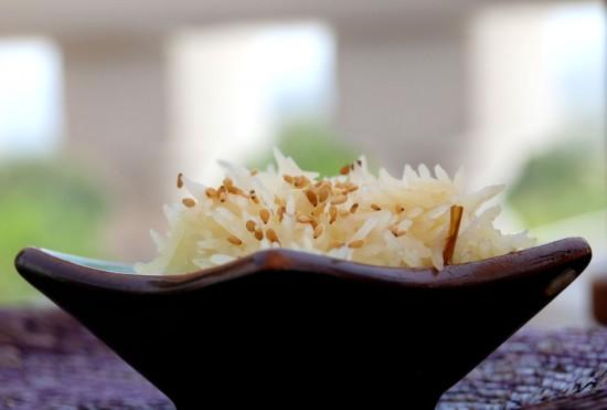 Cómo preparar arroz al vapor