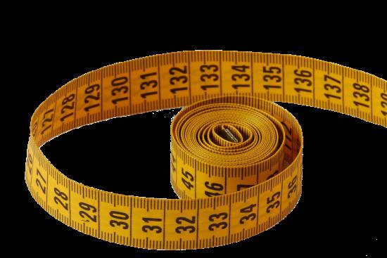 Calculadora de peso ideal utilizando la muñeca