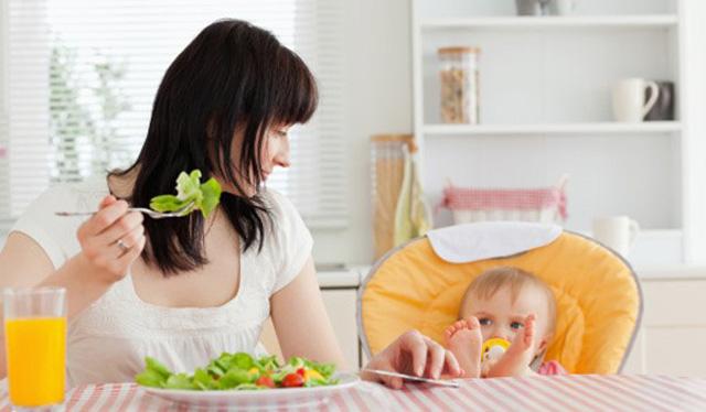 Dieta postparto para bajar de peso