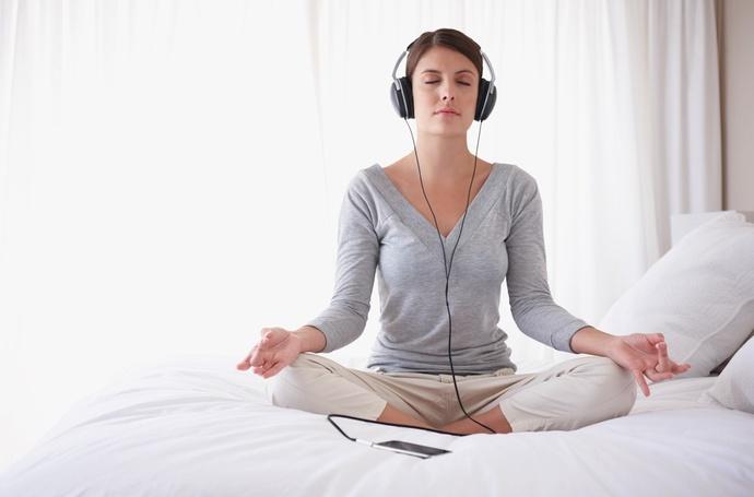 Música de yoga.