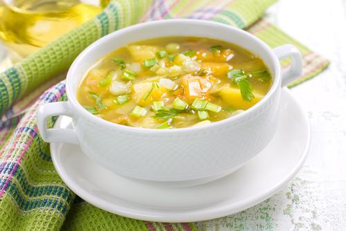 Sopa quema grasa receta