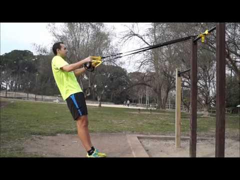 TRX ejercicios para la espalda
