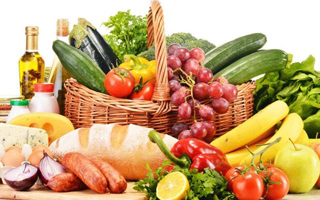 Tabla de alimentos para adelgazar con la dieta disociada