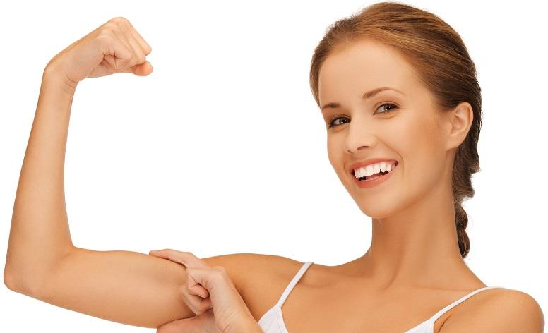 Ejercicios para adelgazar y tonificar los brazos rapidamente