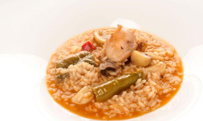Cómo hacer arroz caldoso