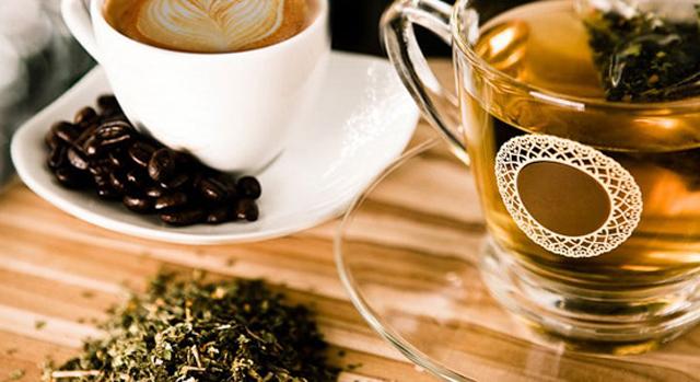 Café y té para el hígado graso