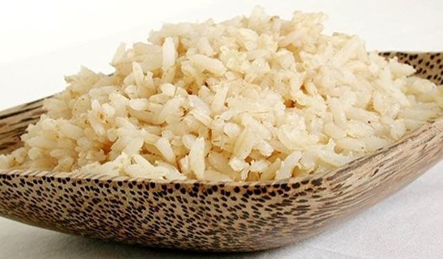 Las calorías arroz
