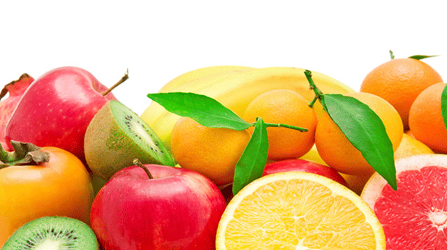 Calorías: fruta para la dieta