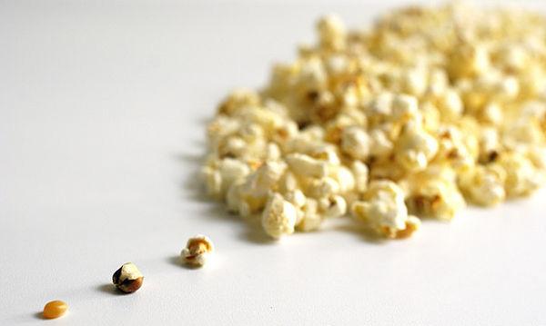 Calorías palomitas de maíz