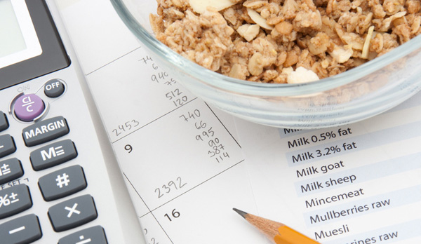 Cuenta calorías para acertar la dieta