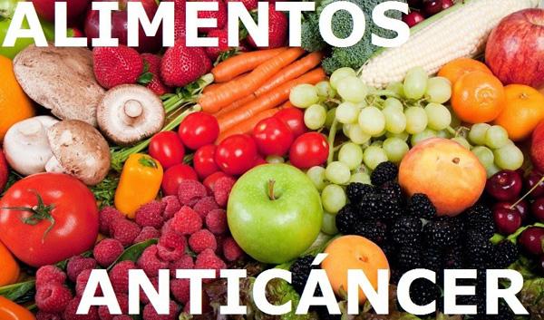 7 alimentos en la dieta anticáncer
