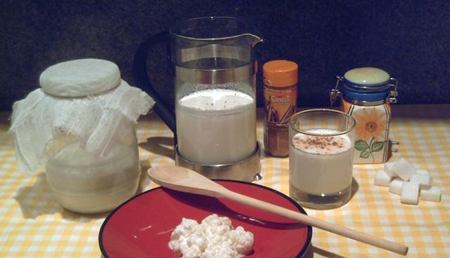 Cómo preparar kéfir de leche