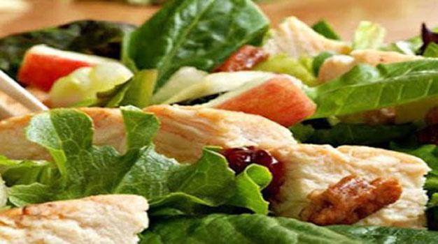 Receta de ensalada de pollo asado