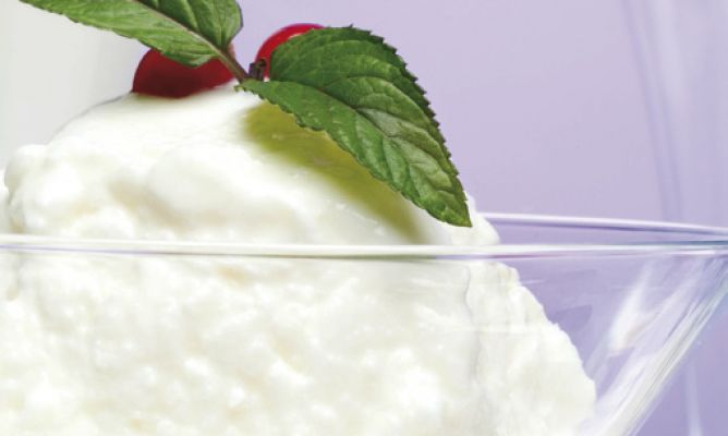 Receta de helados de yogurt
