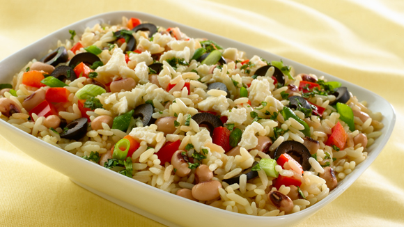 Recetas de ensalada de arroz y atún