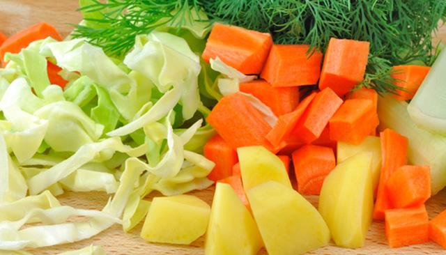 Los alimentos con calorías negativas