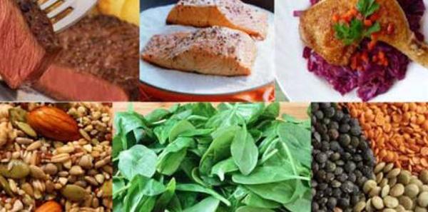 Alimentos hierro ¿por qué son necesarios?
