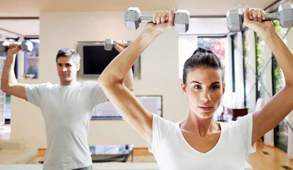 Cómo hacer ejercicio en casa