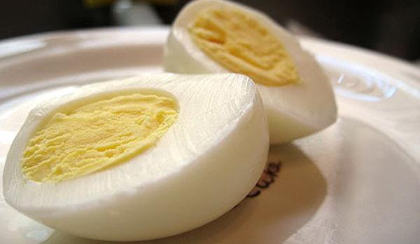 Calorías huevo duro