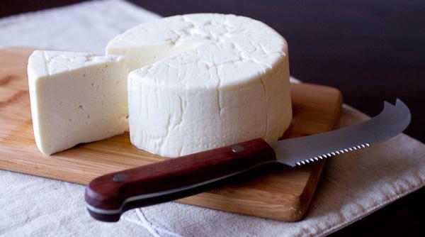 Calorías queso fresco