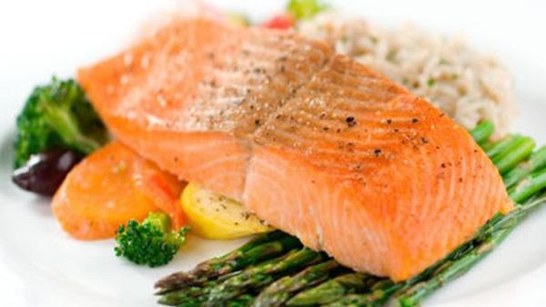 Las calorías salmón
